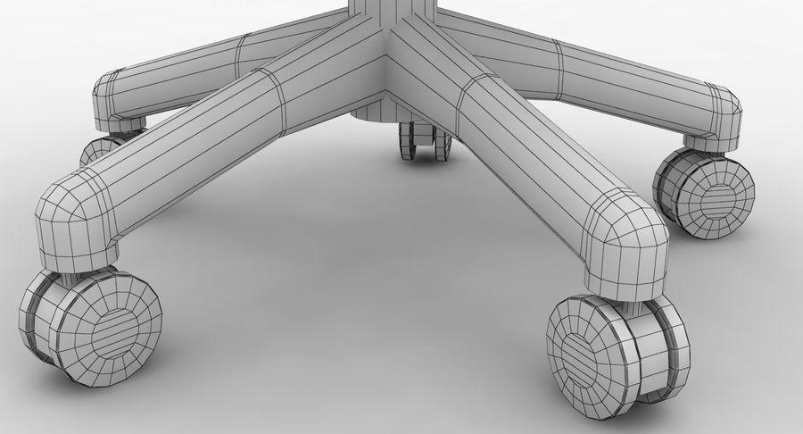Président Aeron Herman Miller royalty-free 3d model - Preview no. 14