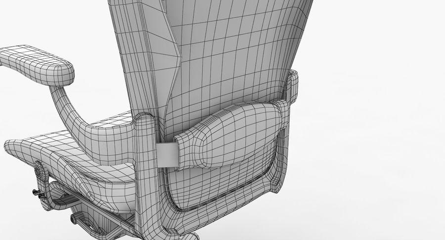 Président Aeron Herman Miller royalty-free 3d model - Preview no. 13
