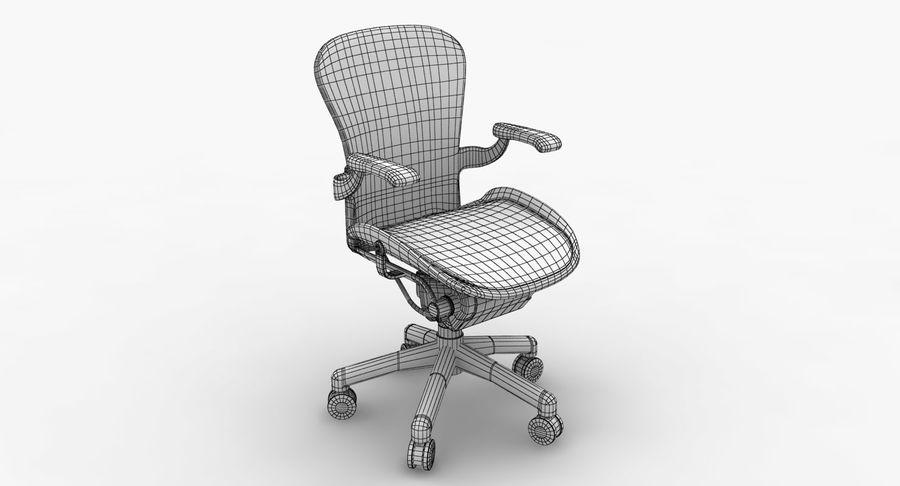 Président Aeron Herman Miller royalty-free 3d model - Preview no. 9