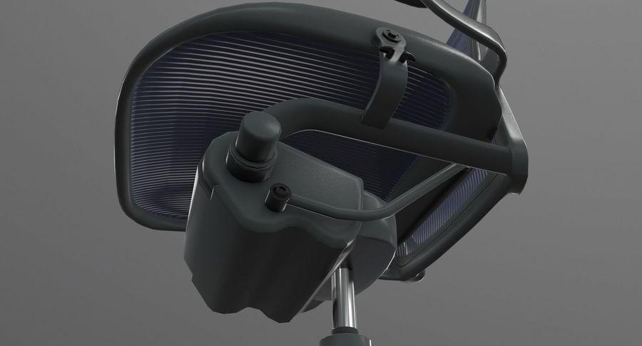 Président Aeron Herman Miller royalty-free 3d model - Preview no. 6