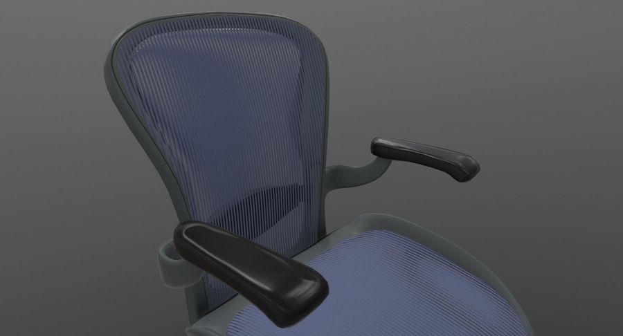 Président Aeron Herman Miller royalty-free 3d model - Preview no. 4