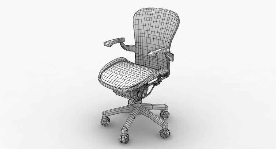 Président Aeron Herman Miller royalty-free 3d model - Preview no. 11