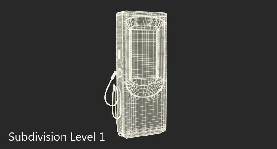 电动汽车充电站 royalty-free 3d model - Preview no. 8