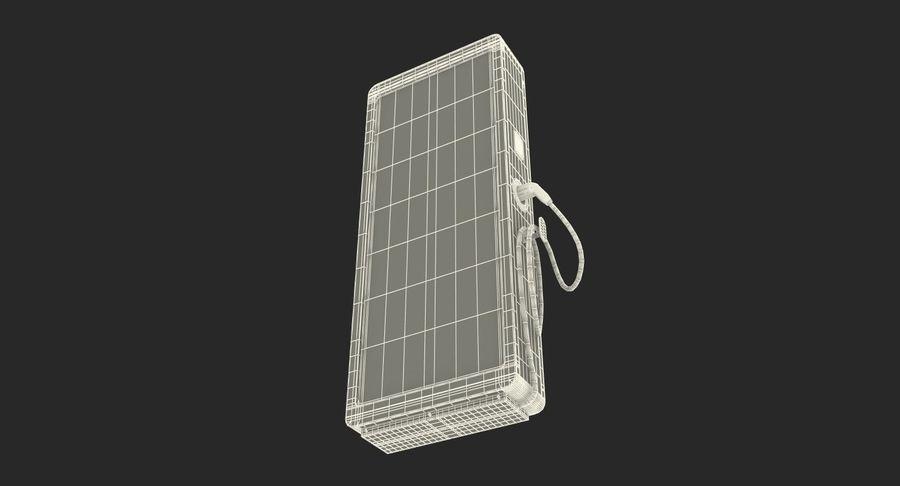 电动汽车充电站 royalty-free 3d model - Preview no. 15