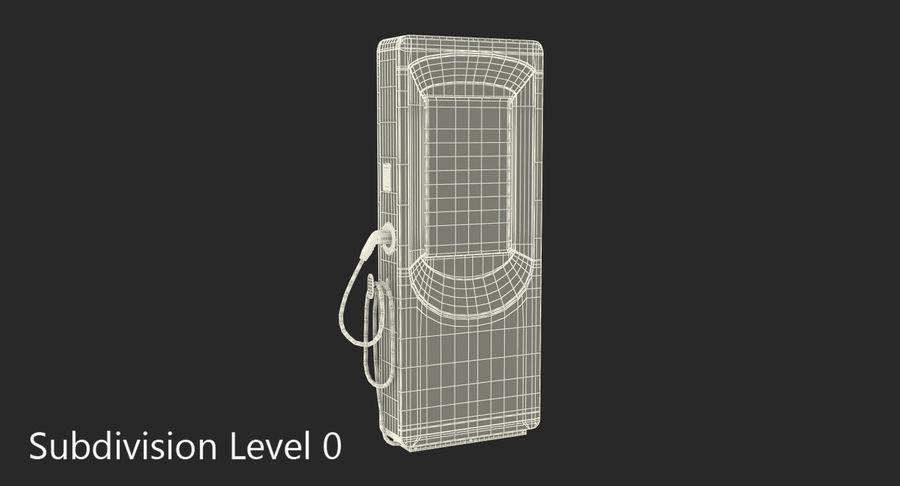 电动汽车充电站 royalty-free 3d model - Preview no. 7
