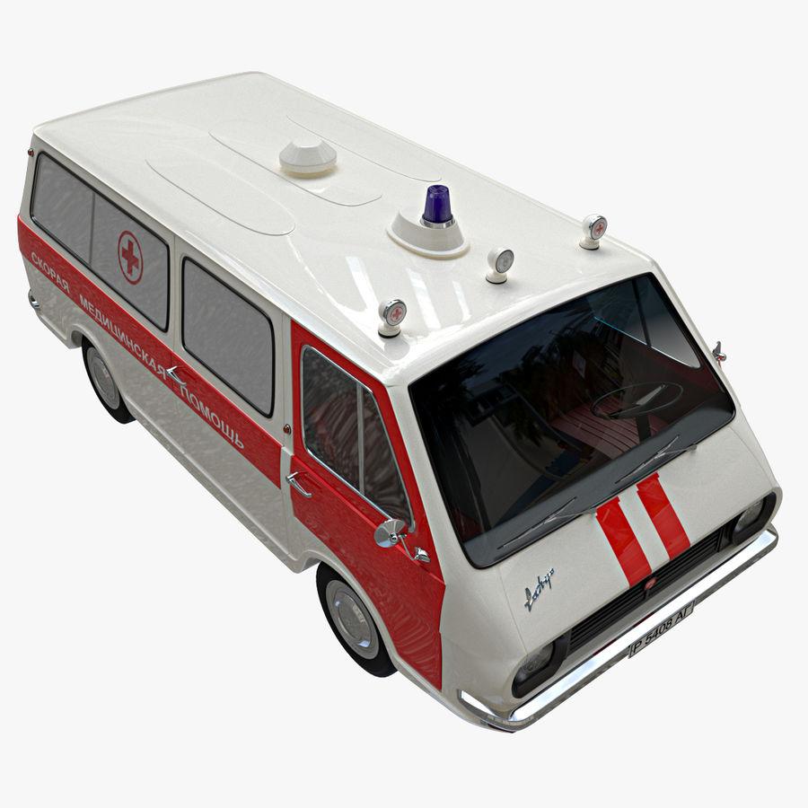 Ambulance royalty-free 3d model - Preview no. 4