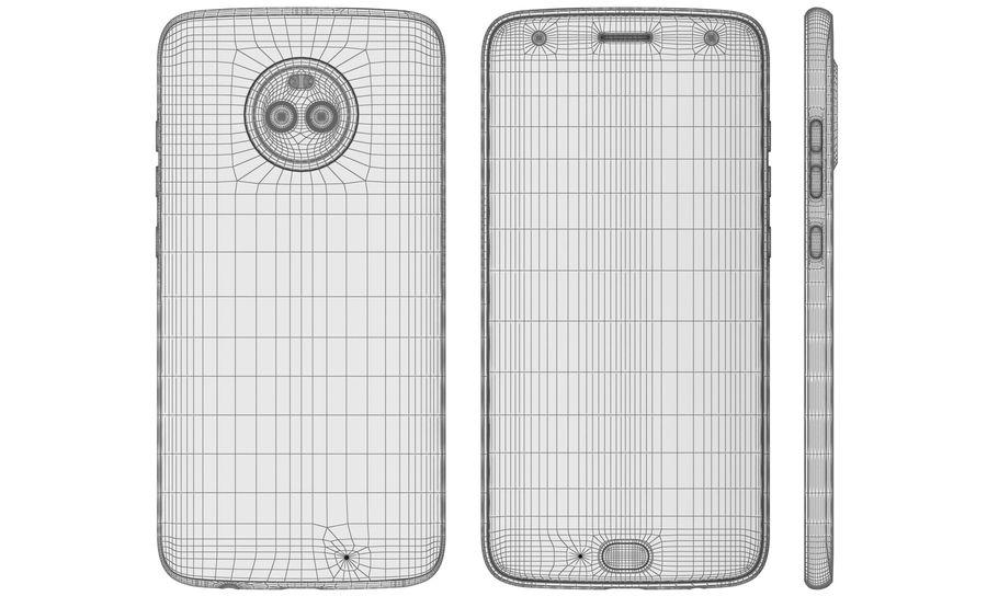 Motorola Moto X4 Super Black royalty-free 3d model - Preview no. 22