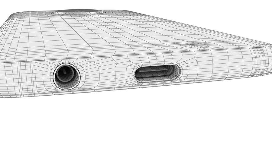Motorola Moto X4 Super Black royalty-free 3d model - Preview no. 33