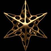 Projekt gwiazdy 3d model