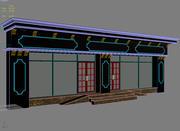 Facciata edificio classico 3d model