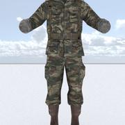 Mundur żołnierza 3d model