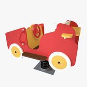 Lekplats vår - bil 3d model