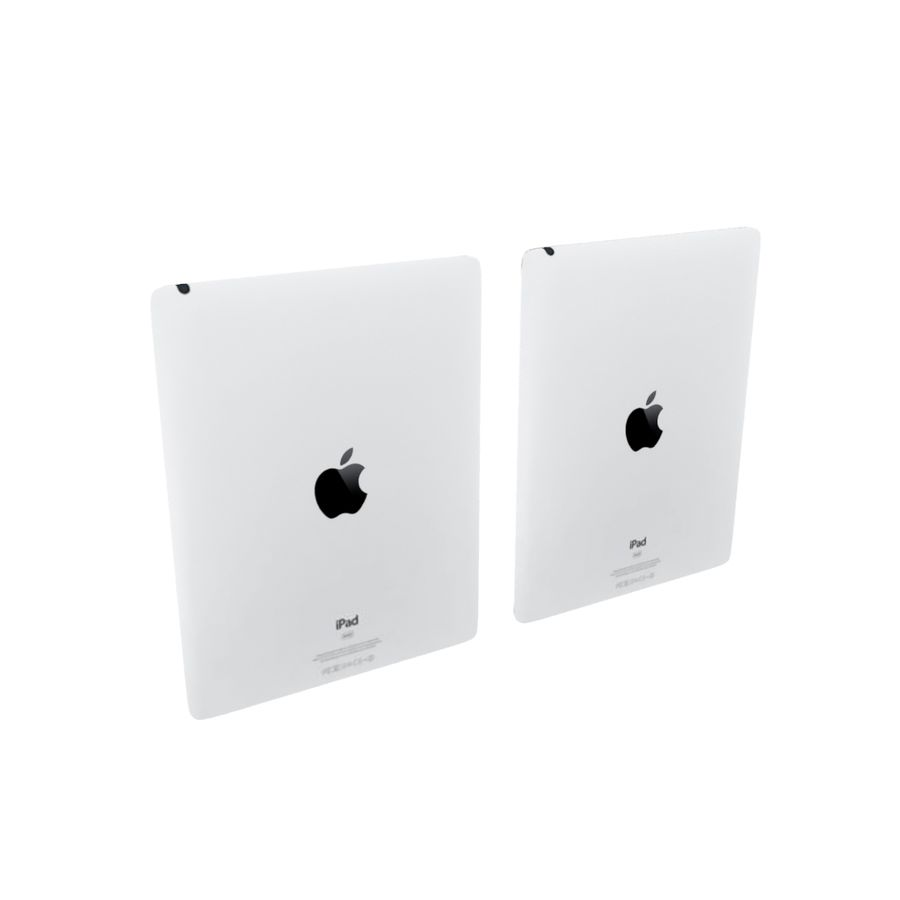 Apple iPad 2 royalty-free 3d model - Preview no. 4