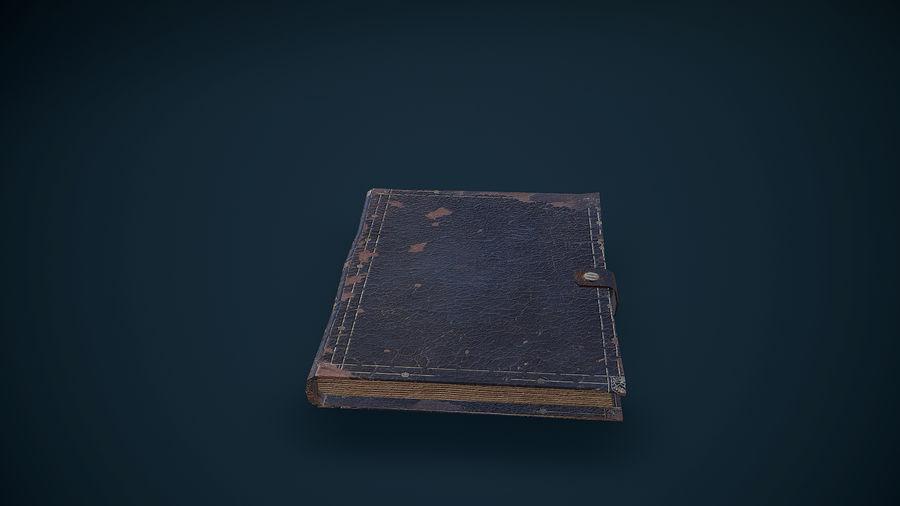Notizbuch royalty-free 3d model - Preview no. 3