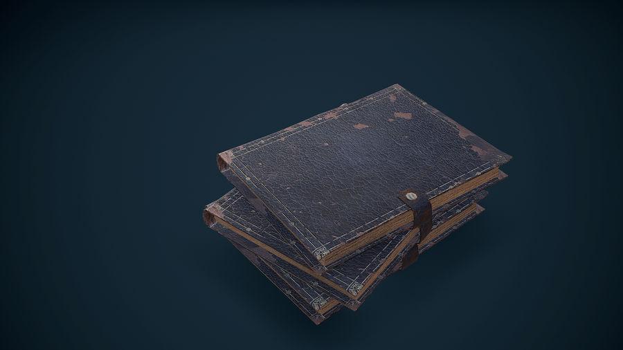 Notizbuch royalty-free 3d model - Preview no. 10