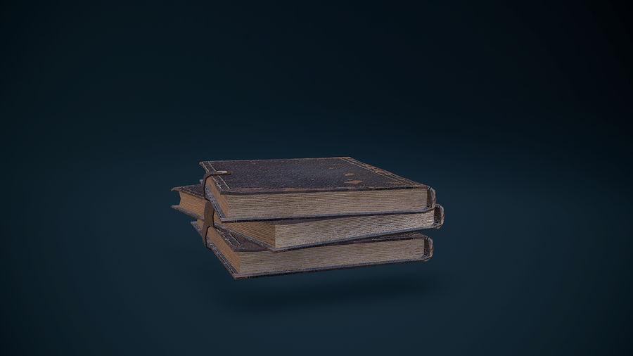 Notizbuch royalty-free 3d model - Preview no. 11