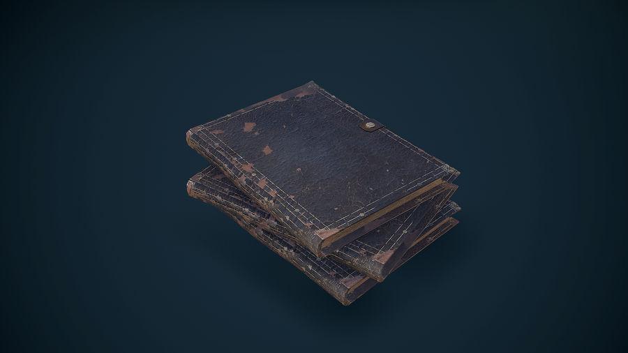 Notizbuch royalty-free 3d model - Preview no. 12