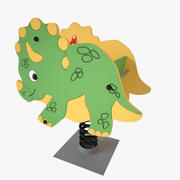 Playground Spring - Dinosaur 3d model