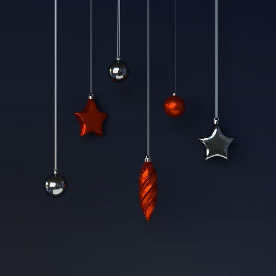 クリスマスの飾り royalty-free 3d model - Preview no. 5
