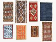 Vintage turkish kilim rugs vol 11 3d model