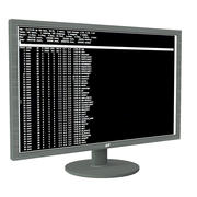 "24"" Monitor 3d model"