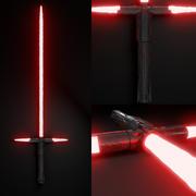 Kylo Ren Light Saber 3d model