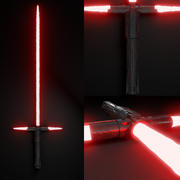 Kylo Ren Light Saber 3d model