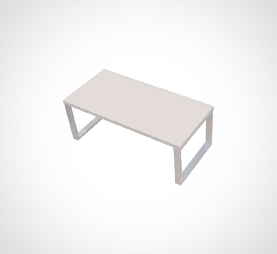 Minimalist Table and Cabinet royalty-free 3d model - Preview no. 3
