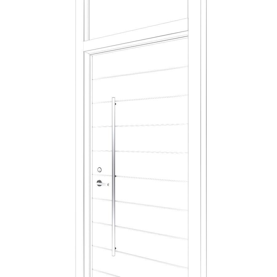 Kapı 109 royalty-free 3d model - Preview no. 7