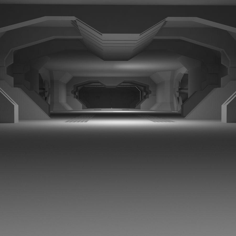 SciFi Interiör royalty-free 3d model - Preview no. 15