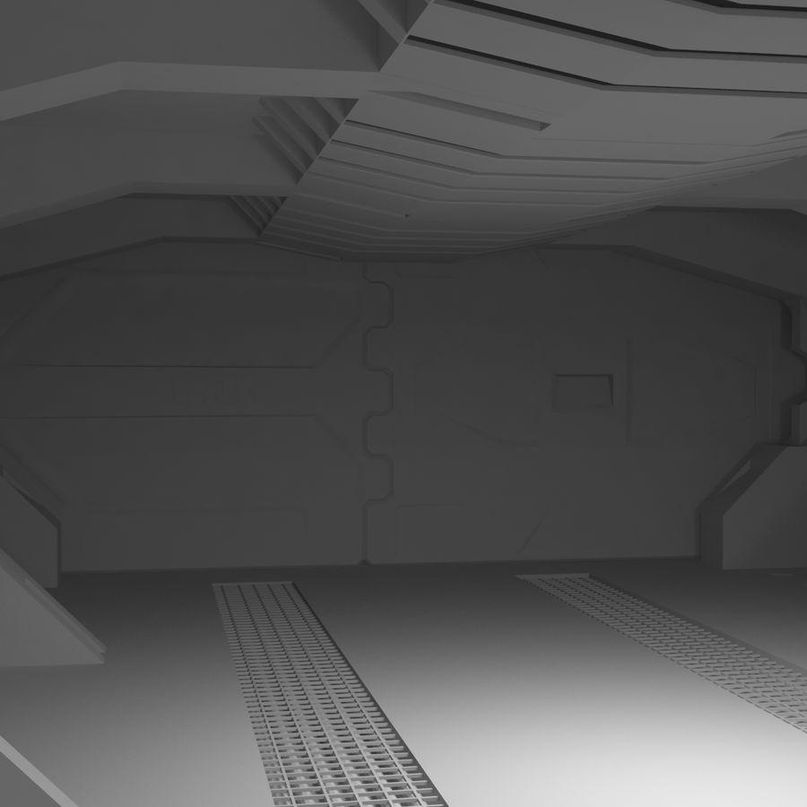 SciFi Interiör royalty-free 3d model - Preview no. 9