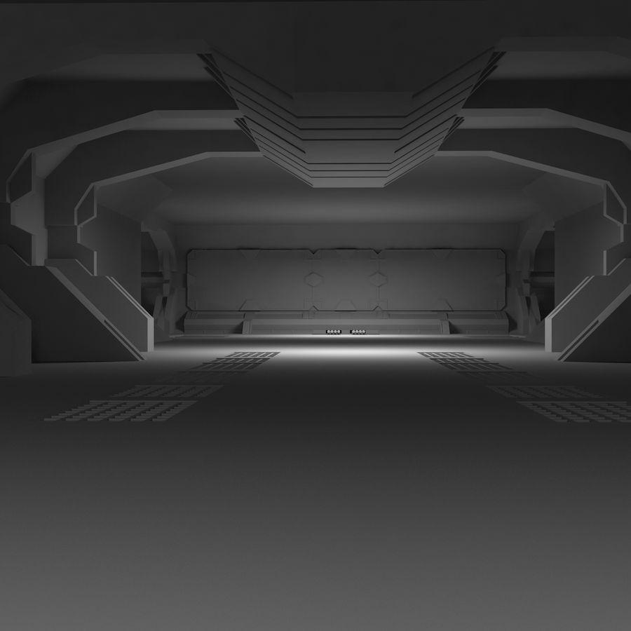 SciFi Interiör royalty-free 3d model - Preview no. 11