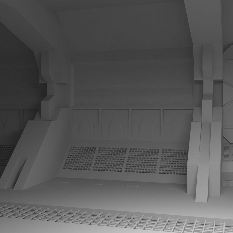 SciFi Interiör royalty-free 3d model - Preview no. 4
