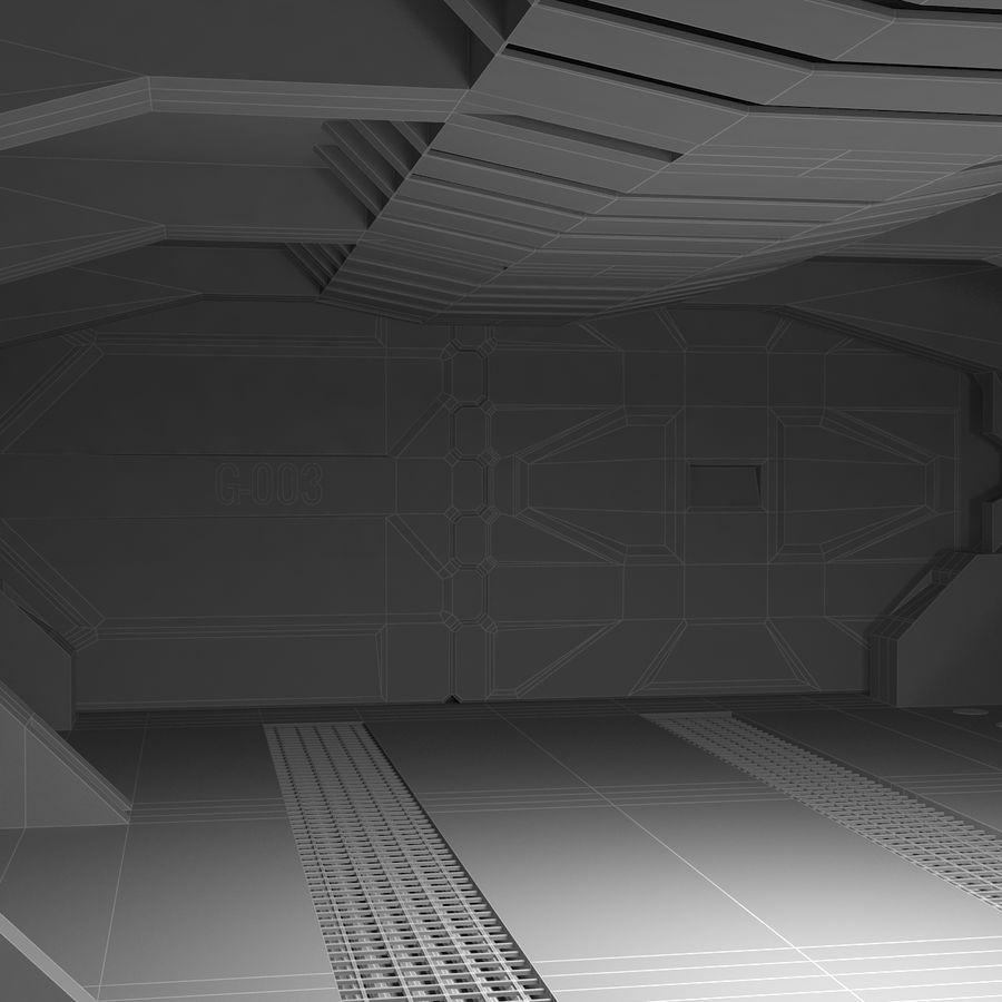 SciFi Interiör royalty-free 3d model - Preview no. 21