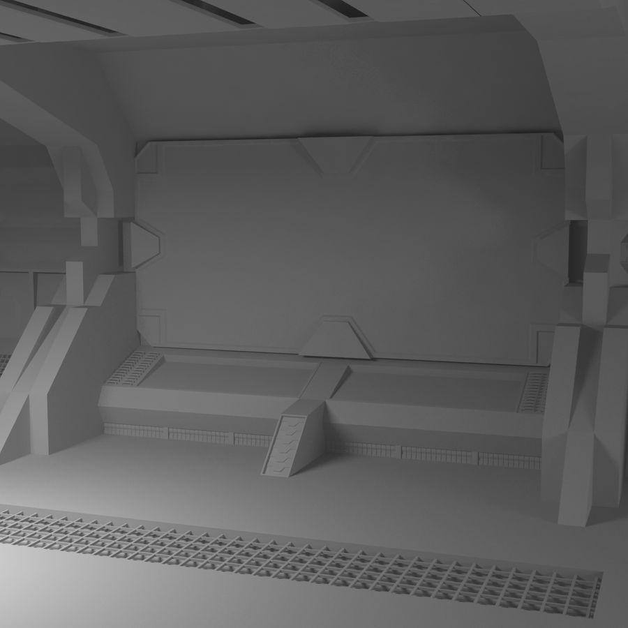 SciFi Interiör royalty-free 3d model - Preview no. 3
