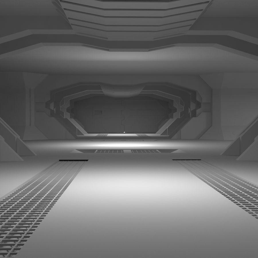 SciFi Interiör royalty-free 3d model - Preview no. 10