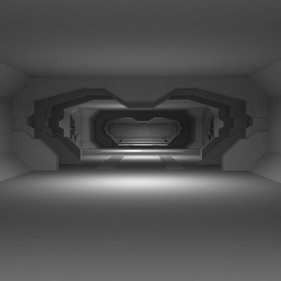 SciFi Interiör royalty-free 3d model - Preview no. 5