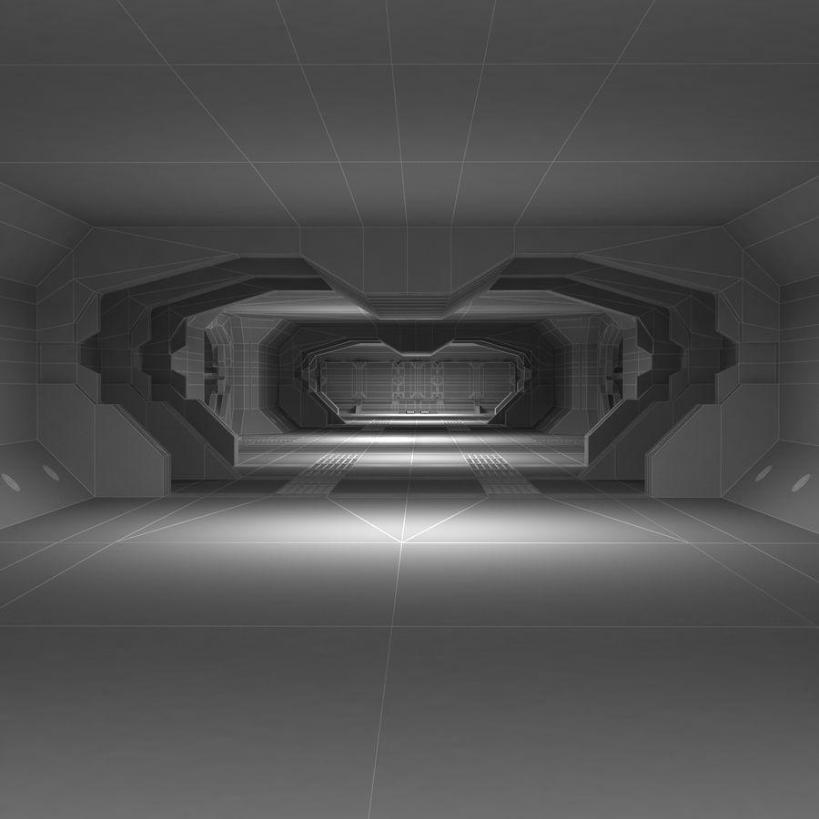 SciFi Interiör royalty-free 3d model - Preview no. 16