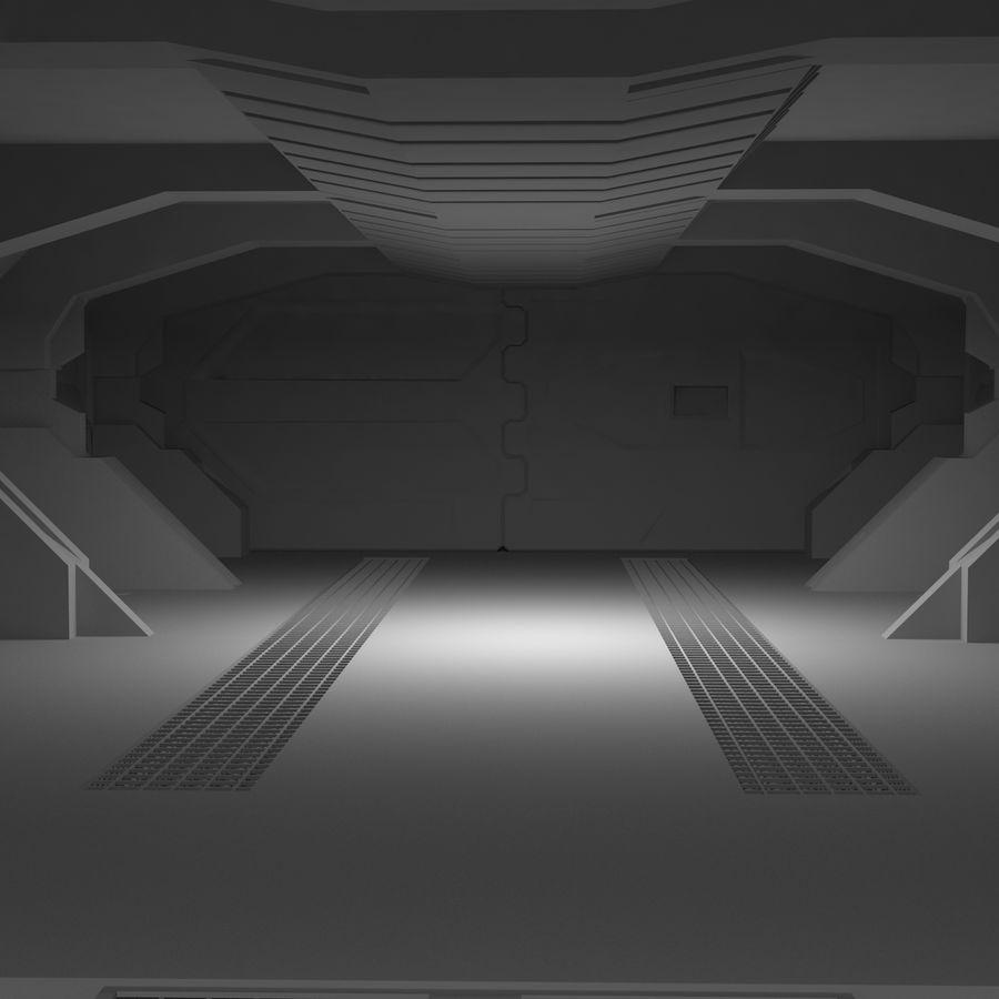 SciFi Interiör royalty-free 3d model - Preview no. 14