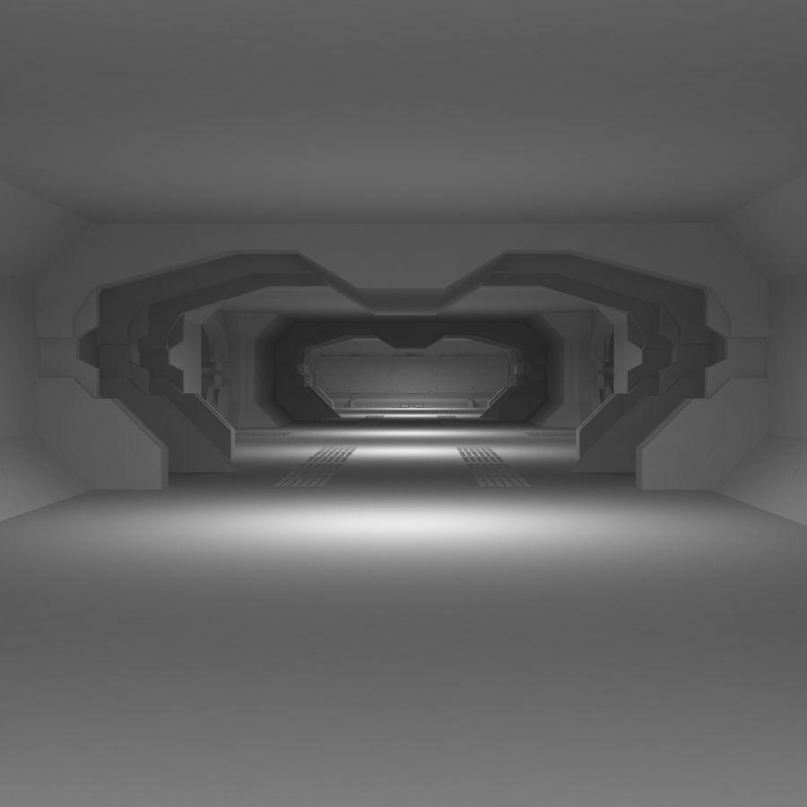 SciFi Interiör royalty-free 3d model - Preview no. 6