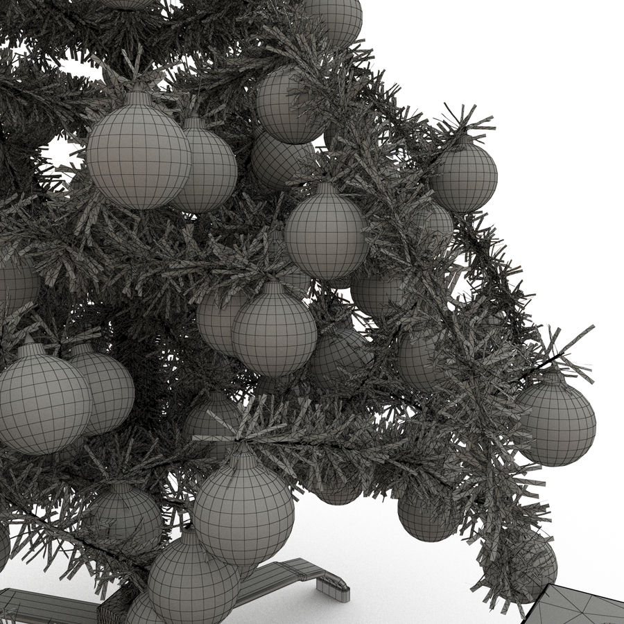 Sapin de Noël royalty-free 3d model - Preview no. 6