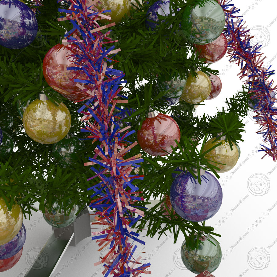 Sapin de Noël royalty-free 3d model - Preview no. 3