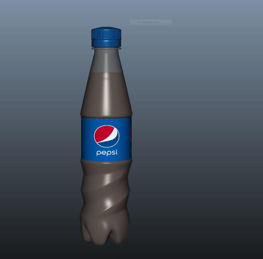 Pepsi Bottle royalty-free 3d model - Preview no. 3