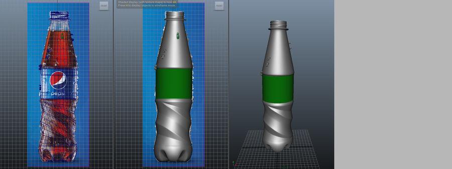 Pepsi Bottle royalty-free 3d model - Preview no. 2