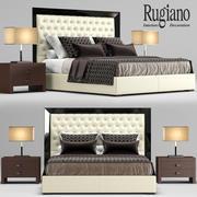 Łóżko Rugiano Kenia 3d model