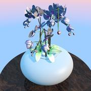orquídea realista 3d model