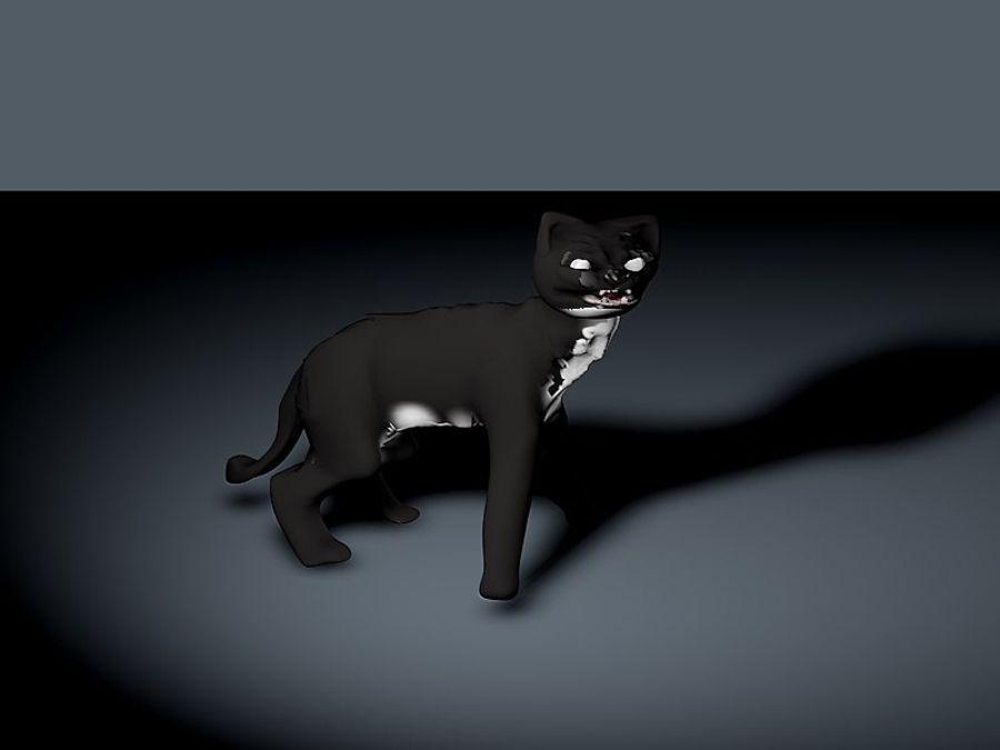 고양이 royalty-free 3d model - Preview no. 2