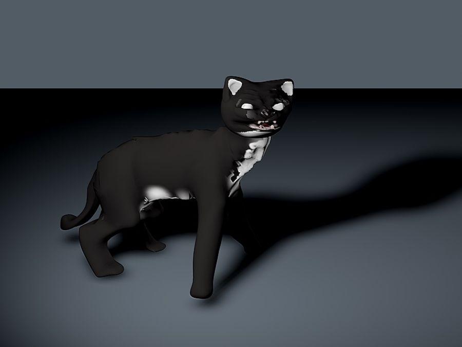 고양이 royalty-free 3d model - Preview no. 3