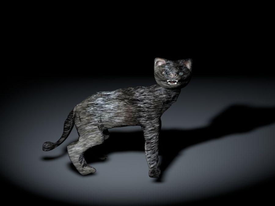 고양이 royalty-free 3d model - Preview no. 5