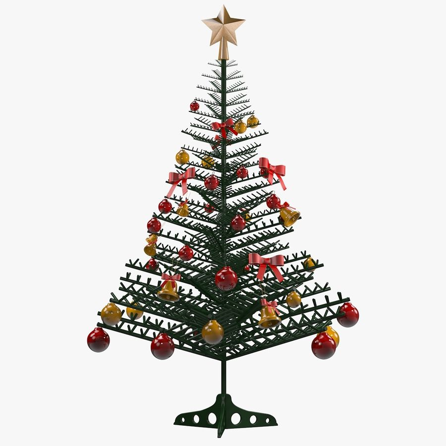 Christmas Tree royalty-free 3d model - Preview no. 16